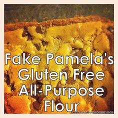 Copy-Cat Pamela's Gluten Free Flour Mix, since it typically has added buttermilk or honey which I cannot have.