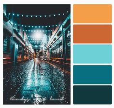 Color Palette Nightt