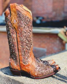 Cute Cowgirl Boots, Womens Cowgirl Boots, Cowgirl Style, Western Boots, Glitter Boots, Country Shirts, Fringe Boots, Shoe Boots, Studs