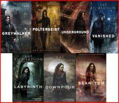 Greywalker series by Kat Richardson Reading Order.currently reading so far so good. Ya Books, Book Club Books, Book Lists, Book Series, Good Books, Reading Lists, Book Art, Fantasy Books To Read, Book Challenge