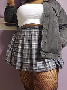 Fat Girl Fashion, Curvy Fashion, Plus Size Fashion, Fashion Outfits, Curvy Girl Outfits, Cute Casual Outfits, Plus Size Outfits, Alternative Outfits, Alternative Fashion