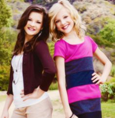 Paige and Brooke Hyland!
