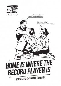 HOME IS WHERE THE RECORD PLAYER IS!