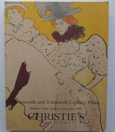 19th & 20th Century Prints Christie's Auction Catalog 8990 Nov 1998 New York