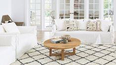 5 Vibrant Clever Hacks: Coastal Home Decks coastal living room sofa.Coastal Outdoor Dreams coastal home decks. Coastal Living Rooms, Home Living Room, Living Spaces, Coastal Curtains, Coastal Bedding, Coastal Style, Coastal Decor, Modern Coastal, Coastal Entryway