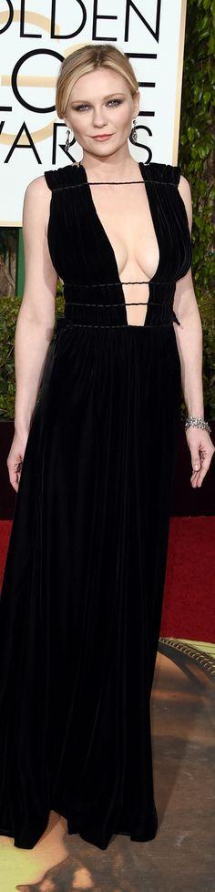 Kirsten Dunst Valentino, 2016 Golden Globes
