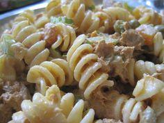 RECETA: Ensalada de Atún con pasta en http://www.vox.com.mx/2013/09/receta-ensalada-de-atun-con-pasta/