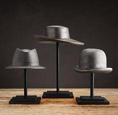 Vintage Hat Molds at Restoration Hardware