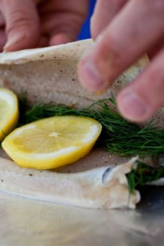 """NYT Cooking: It's easy to find farmed rainbow trout these days. They're usually boned and """"butterflied"""" — opened up, with the halves still attached. I bake them in foil packets and moisten them with the savory juice that accumulates inside as they bake."""
