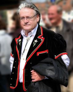 Swiss traditional Men's costume