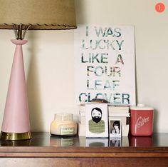 Roundup: 10 DIY Typographic Wall Art Ideas!