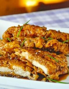 Double Crunch Honey Garlic Chicken Breasts This double crunch honey garlic chicken breasts is by far may be one of the most tempting recipes you could ever try, because these chicken breasts are so special. They are packed with delicious aroma of garlic and ginger, and other seasonings along with soy sauce creating even more flavoursome accompaniment. The chicken breasts are […] Continue reading... The post Double Crunch Honey Garlic Chicken Breasts appeared first on My Com..