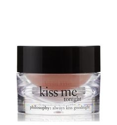 TRY? So expensive...but my lips are in need of some therapy... kiss me tonight | intense lip therapy | philosophy lip shines