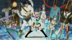 Fairytail: Celestrial Mage - Lucy Heartfilia + Celestrial Spirits.