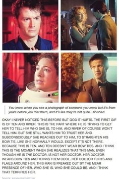 Ohms!  They thought about the wardrobe for the next doctor! River oh my!