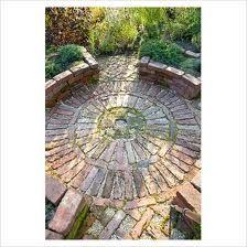 circular brick paving - Google Search