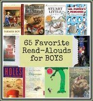 65 Favorite Read-Aloud Books for Boys: Reader's Choice | 4tunate