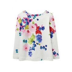 Das Langarmshirt HARBOUR in weiß mit floralem Muster ist ein ideales Basic und passt hervorragend zu einer Hose oder Rock. An den Schultern befindet sich jeweils 1 Knopf für leichteres An und Ausziehen. erhältlich in den Größen 68 - 80 statt € 22,95 jetzt um nur € 13,99 NUR SOLANGE DER VORRAT REICHT! Toms, Kind Mode, Sweatshirts, Blouse, Long Sleeve, Sleeves, Sweaters, Fashion, Moving Out