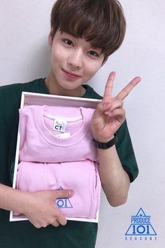 Wanna-One - Park Jihoon - Produce 101 Season 2 Jinyoung, Park Jihoon Produce 101, Cho Chang, Guan Lin, Produce 101 Season 2, Love Your Skin, Kim Jaehwan, Now And Forever, 3 In One