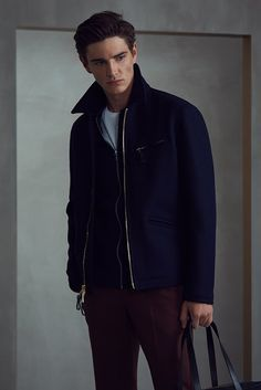 AW17 MENSWEAR LOOKBOOK Look 10 REISS - Shop The Lookbook : Visit REISS and look through our exclusive range of products in the aw17 menswear lookbook. look 10 features our products; clandeboyle - navy, stag - black, bless - white, westbury - copper, bournemouth - black.