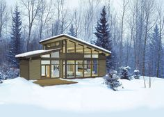 Eco Home-Building Kits : Lindal Elements home