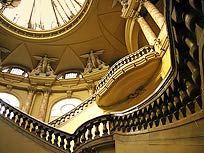 Interior of the Centro Gallego de la Habana