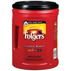 Folgers Classic Roast Coffee, 48-Ounce Can   Food and Beverage Products   Supplize