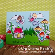 Christy Gets Crafty: Thank You Fairy Much - KW Card Designs Video Hop