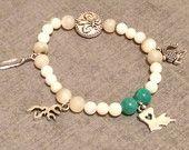Louisiana Cajun Bead Stack Bracelet