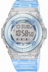 Casio Baby G Watch Blue Ladies Digital Watch Casio Baby G Shock, Baby G Shock Watches, Sport Watches, Cool Watches, G Watch, Casio Watch, Digital Wrist Watch, Rubber Watches, New Baby Products
