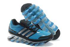 Adidas Springblade Drive Blå Sort Sølv Herresko