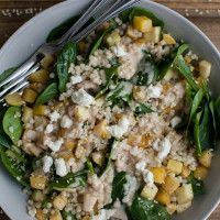 Root Vegetable Salad with Pearl Couscous and Lemon-Tahini Dressing (Naturally Ella) Healthy Cooking, Healthy Snacks, Healthy Eating, Cooking Tips, Roasted Root Vegetables, Veggies, Spinach And Cheese, Spinach Salad, Goat Cheese