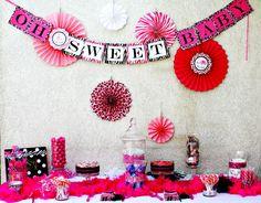 DIY Baby Shower Candy Buffet!
