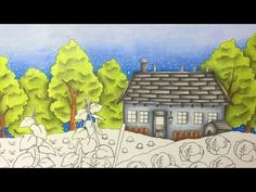 ROMANTIC COUNTRY by Eriy - prismacolor pencils - part 1 - YouTube