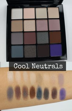 NYX cool neutrals