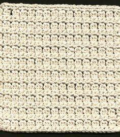 Five Textured Dishcloths Free patterns