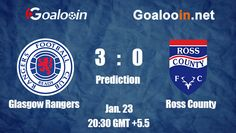 Glasgow Rangers 3-0 Ross County