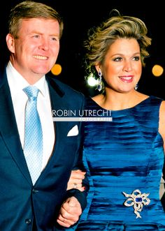 1-2-2014  ROTTERDAM NETHERLANDS  King willem alexander and queen maxima  arrives  for the celebration party for Queen Beatrix to thank fed f...