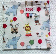 """serviette de table enfant no 14,personnalisable ,tissu de coton """"le Cirque"""" : Ecole et loisirs par kate27"""