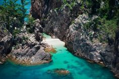 Blue Pearl Bay on Hayman Island is the perfect snorkeling getaway in the Whitsundays to see the Great Barrier Reef.