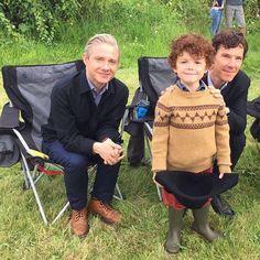 Honestly little Sherlock looks just like Ben