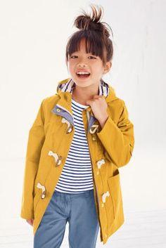 Yellow Fisherman Jacket (3-16yrs)