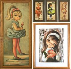 Big Eyed Art collection.