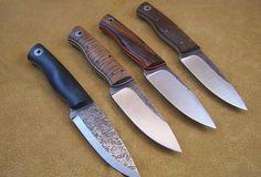 Bushfinger knife by Fiddleback Forge