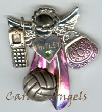 Volleyball Angel Pin. $20.95