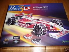 Puzz 3D Williams FW21 Formula 1 Puzzle Wrebbit by Wrebbit. $149.95. Williams FW21 - Wrebbit PUZZ 3D Jigsaw Puzzle:  The Williams FW21 was the car the Williams Formula One team used to compete in the 1999 Formula One season. It was driven by Ralf Schumacher, who had swapped him from Jordan with Heinz-Harald Frentzen and Alex Zanardi who had last raced in Formula One in 1994, but had since won the CART championship twice.  Item # P3D-919 Size: Height = 4.3 inche...