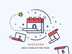 Best Icons Of The Year 2016 designed by Justas Galaburda. Connect with them on Dribbble; Web Design, Line Design, Vector Design, Icon Design, Flat Design, Outline Illustration, Graphic Design Illustration, Digital Illustration, Icon Gif
