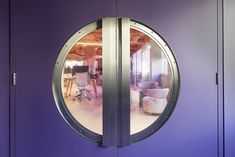 PENSON have collaborated with Great Ormond Street Hospital to deliver a space dedicated to accelerated research and evaluation of new AI-enabled technology. Hospital Design, Round Door, Door Design, Design Projects, Collaboration, Meet, London, Interior Design, Nest Design