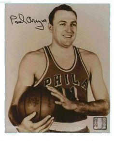 Paul Arizin Autographed Photo Philadelphia Warriors Best Wishes PSA/DNA Basketball History, Basketball Legends, Basketball Players, Basketball Shoes, Running The Gauntlet, Sports Figures, World Of Sports