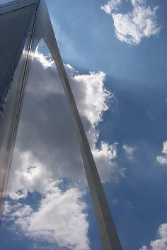 St. Louis Arch - missed showing Mo this iconic landmark he so wanted to see.  We will see it together in the near future.